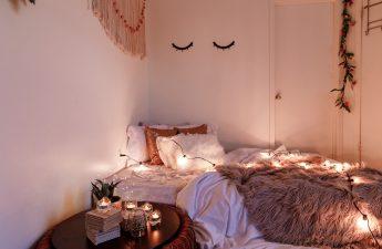 kamar tidur estetik